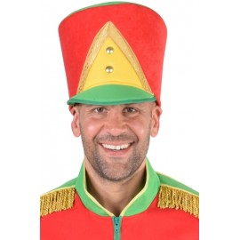 Chapeau harmonie rouge jaune vert homme luxe