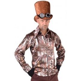 Déguisement chemise Steampunk homme luxe