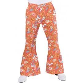 Déguisement pantalon hippie paisley homme luxe