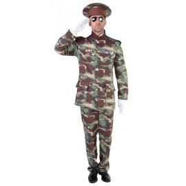 Déguisement officier militaire homme luxe