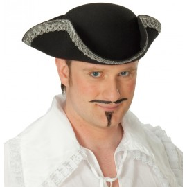 Chapeau tricorne pirate adulte