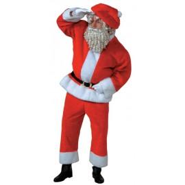 Déguisement Père Noël homme Santa Claus luxe