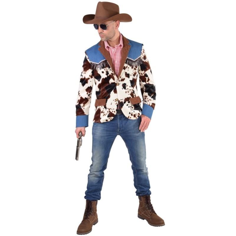 D guisement veste cowboy homme d guisements cowboy western adulte - Deguisement western homme ...