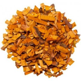 Ecorces de bois orange décoratives 200 gr