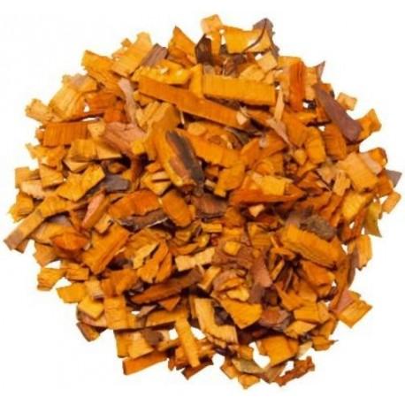 Ecorces de bois orange décoratives 200 gr