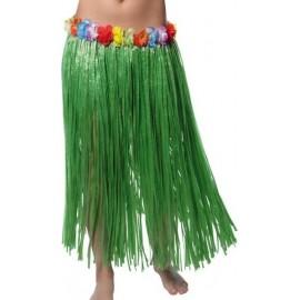Déguisement Jupe hawaïenne longue couleur