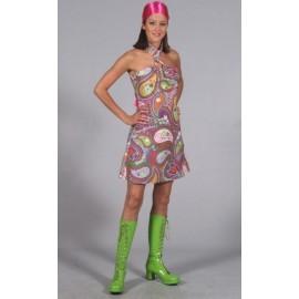 Déguisement Hippie Chic Années 60's-70's Femme