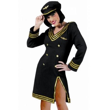 Déguisement Pilote de Ligne Sexy Femme