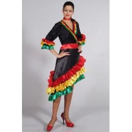 Déguisement Robe Rio Deluxe Femme