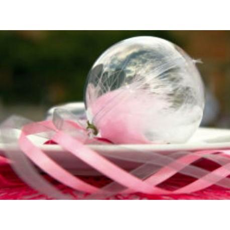 Boule transparente 5 cm boule plexi boule plastique