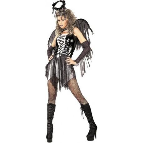 Deguisement Ange Dechu Fallen Angel Femme