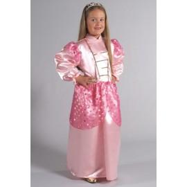 Déguisement Princesse Rose Satin Enfant