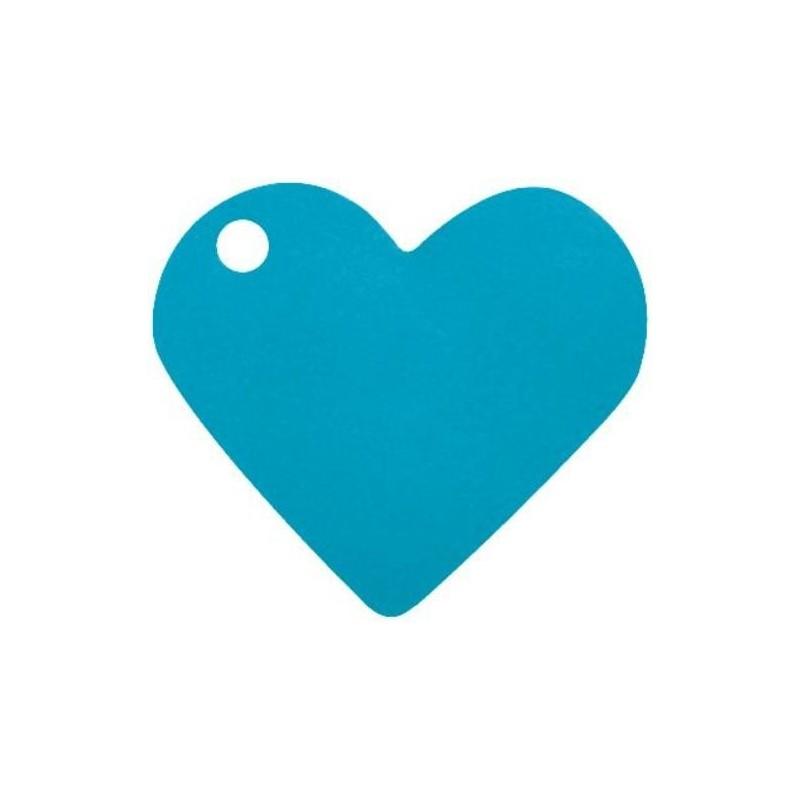 Marque place coeur 4 cm les 10 - Marque place coeur pied de verre ...