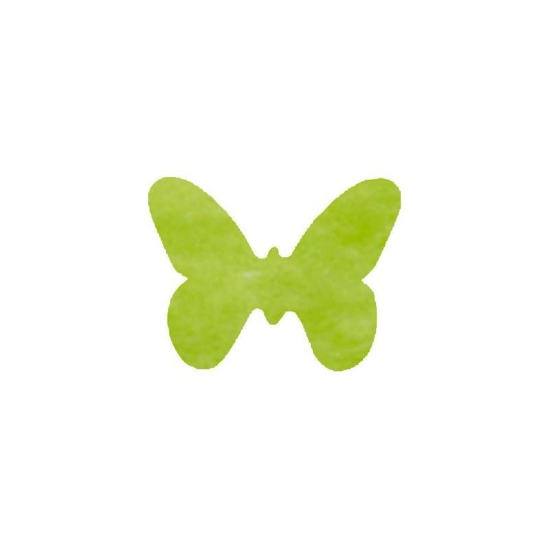 Chambre Bebe Bleu Et Blanche : Papillons intissé tissu non tissé couleur les 12