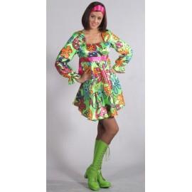Deguisement Hippie Chic Robe Baby Doll Femme