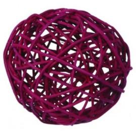 Boules Rotin Bordeaux Diamètres Assortis Les 10