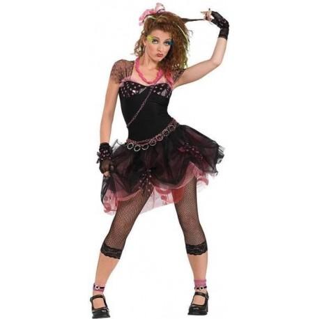 Déguisement Diva 80's Rock Star Femme