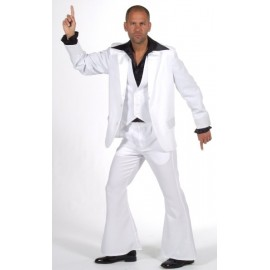 Déguisement Disco Fever Deluxe Homme Costume 3 Pcs
