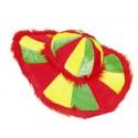 Chapeau multicolore adulte