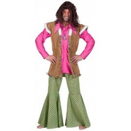 Déguisement Pantalon Hippie Psychadélique Homme