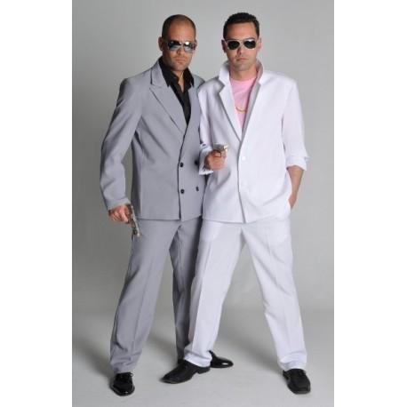 Costume de déguisement Miami Vice Blanc Adulte