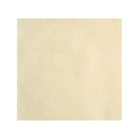 Nappe carree intisse ou surnappe ivoire