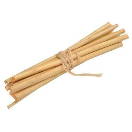 Fagot en bois decoratif ivoire