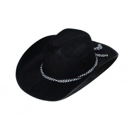 Chapeau cowboy Bonanza noir adulte