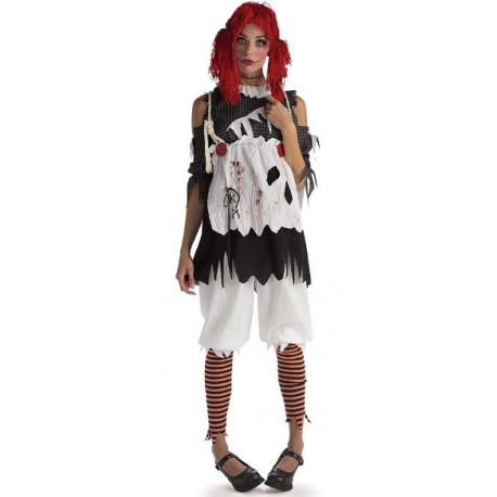 Déguisement Rag doll Girl Unhappily Everafter Femme