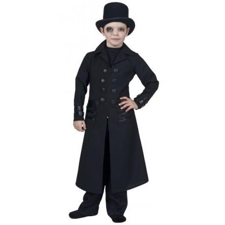 Déguisement Gothique Manteau Deluxe Enfant Garçon