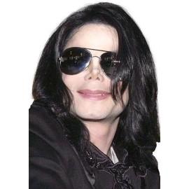 Perruque Michael Jackson™ Cheveux Raides Adulte