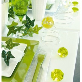 Diamant deco decoratif couleur decoration de table festive