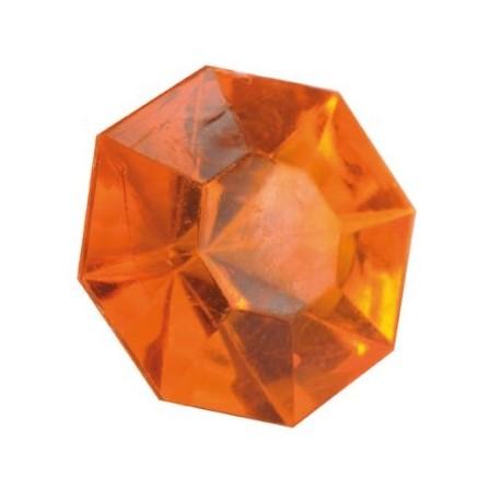 Diamant orange de deco