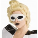Lunette lady gaga blanche Sous Licence lady gaga