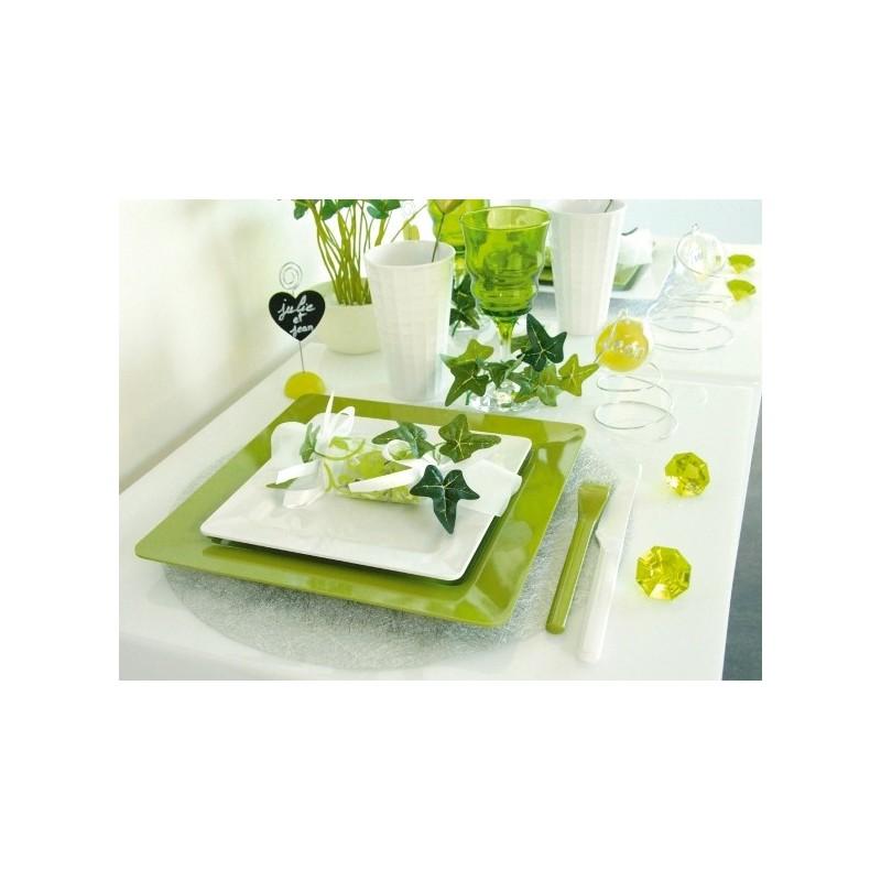 set de table rond fanon m tallis or les 6 achat sets de table f tes. Black Bedroom Furniture Sets. Home Design Ideas