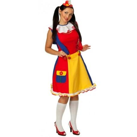 Déguisement Clown Rock Femme