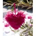 Coeur en plumes 12 cm en 6 Couleurs