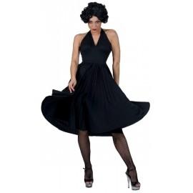 Déguisement Sixties Robe Noire Années 60's Femme