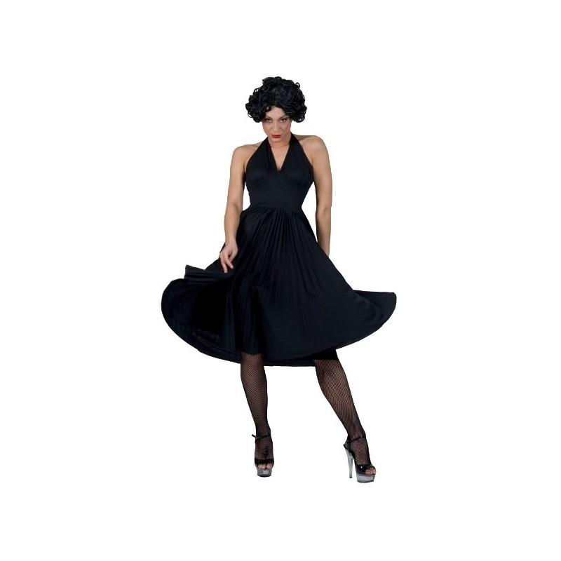 d guisement sixties robe noire ann es 60 39 s femme. Black Bedroom Furniture Sets. Home Design Ideas