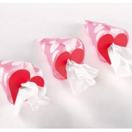 Clips Déco Coeur Les 24 Attaches 5 cm
