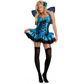 Déguisement Fée Fantasy Fairy Bleue Femme