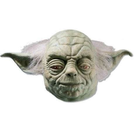 Masque Yoda Star Wars Deluxe en Latex Adulte et Ados
