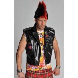Déguisement veste punk homme luxe