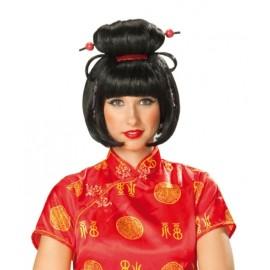 Perruque Geisha Girl Adulte