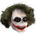 Masque Joker 3/4 avec Cheveux Adulte et Ados