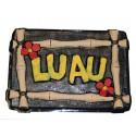 Décoration Hawaii Luau Murale 55 cm