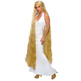 Perruque Blonde Lady Godiva Extra Longue Femme