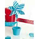 Porte nom moulin vent couleur les 6 decoration festive