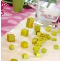 Cubes en Bois Couleur de Décoration les 30