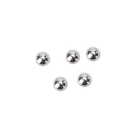 Perles de pluie argent 7 mm les 300